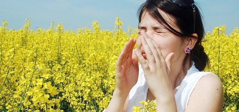 Матча подпомага борбата с алергиите
