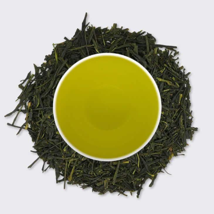 Японски зелен чай Сенча